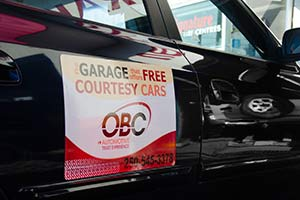 obc convenience - courtesy cars